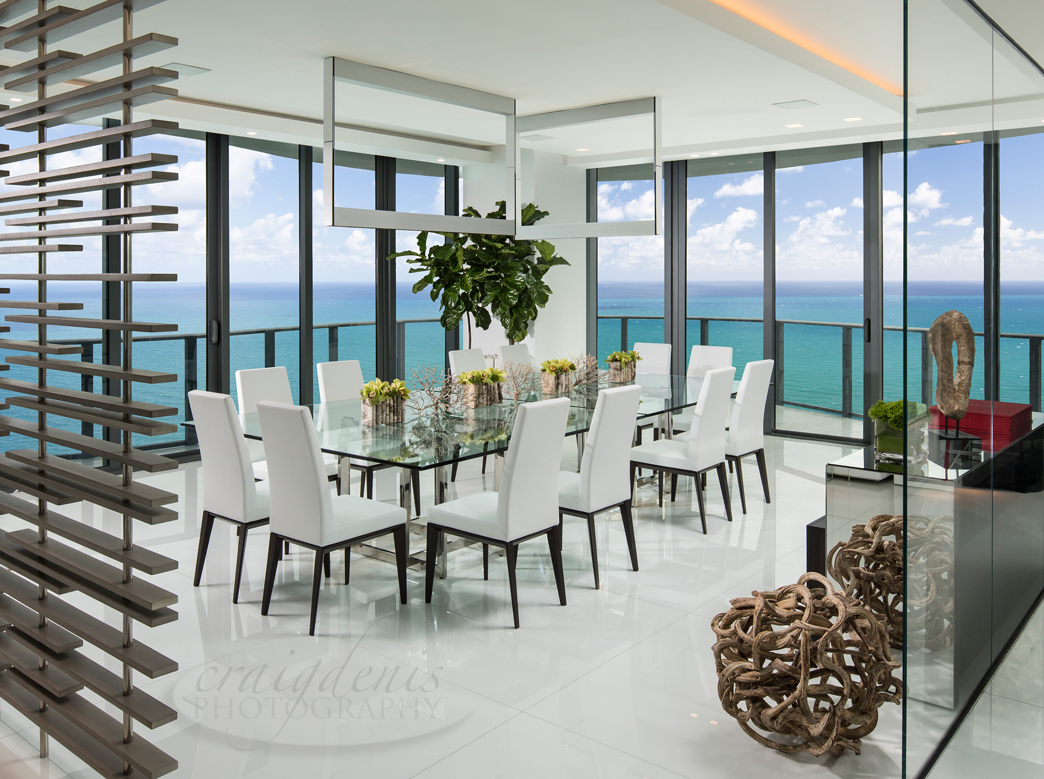Modern Dining Room Furniture Miami. Mid century Modern Dining Room ...